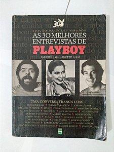 As 30 Melhores Entrevista de Playboy- Edição Colecionador