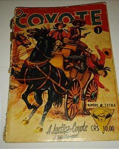 O Coyote 1 - A justiça do Coyote - J. Mallorque 1957 (Danificado para restaurar)