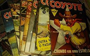 Coleção Coyote - J. Mallorque - 135 volumes raros - Faroeste