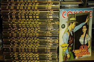 Lote Kit Livros O Coyote - J. Mallorque - 40 volumes raros antigos