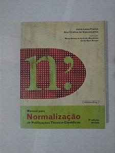 Manual Para Normalização de Publicações Técnico-Científicas - Júnia Lessa França e Ana Cristina de Vasconcellos