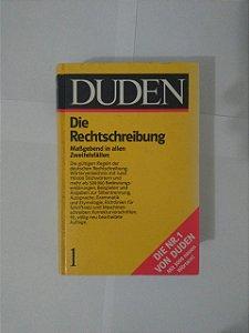 Dicionário Alemão: Die Rechtschreibung - Duden