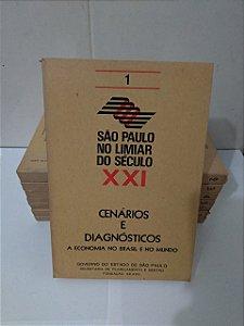 Coleção São Paulo No Limiar do Século XXI - C/8 Volumes