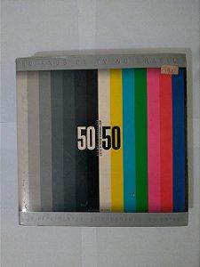 50 Anos de Tv no Brasil 50 Depoimentos, 50 Programas e 50 Datas - J.B  de oliveira Sobrinho-Boni