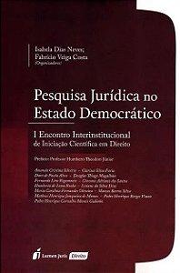 Pesquisa jurídica no Estado Democrático - Isabela Dias Neves