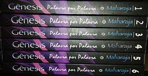 Coleção Gênesis Palavra por palavra - 6 volumes - Nachman Szmulewicz Maharaja