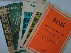Coleção Livros de partituras - C/5 Exemplares