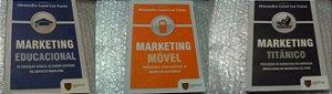 Coleção Marketing - Alexandre Luzzi Las Casas - Saint Paul 3 volumes Educacional - Titânico - Móvel