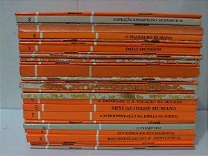 Coleção a Voz do Papa - C/28 volumes