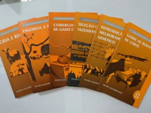 Coleção Lucrando com a Pecuária - Sylvio Lazzarini Neto C/6 volumes