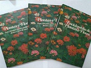 Coleção Plantas e Flores C/3 Volumes