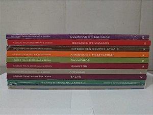 Coleção Folha Decoração e Design C/10 Volumes