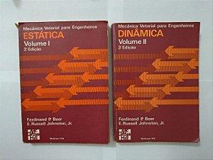 Coleção Mecânicas Vetoriais para engenheiros - Volumes 1 e 2