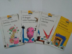 Coleção El Barco de Vapor - C/4 Volumes ( Leitura em Espanhol)