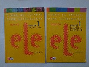 Curso de Español para Extranjeros - Inicial 1: Libro del Aluno+Cuarderno de Ejercicios