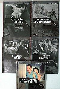 Coleção Folha Clássicos do Cinema - C/5 volumes