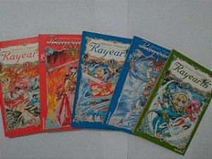 Coleção Guerreiras Mágicas de Rayarth C/5 Volumes