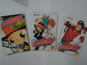 Coleção Reborn! - Akira Amano C/3 Volumes