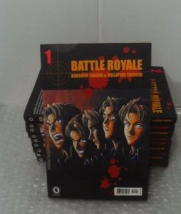 Coleção Mangás Battle Royale - 10 volumes Kit