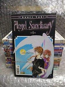 Coleção Mangás Angel Sanctuary 18 volumes - Panini