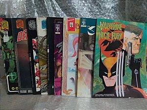 Coleção Graphic Novel - Editora Abril - 9 volumes