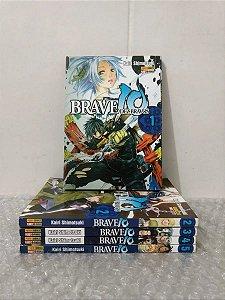 Brave 10 mangás - Coleção 1 ao 5 Panini