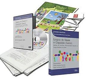 Língua de Sinais e Cognição (Lisco) Kit com bolsa e DVD de aplicação - Fonoaudiologia - Maria Valeria Schimidt