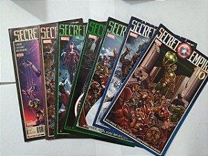 Coleção Secret Empire - C/7 volumes (Leitura em Inglês)