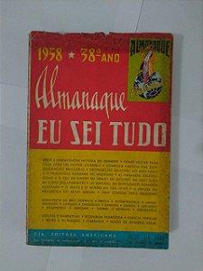 Almanaque Eu Sei de Tudo 38º ano - 1958