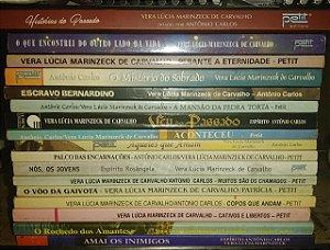 Coleção Vera Lúcia Marinzeck de Carvalho - Romance Espírita - 17 volumes