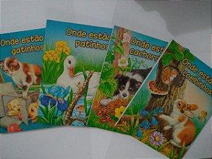 Coleção Procure-Me - C/4 volumes