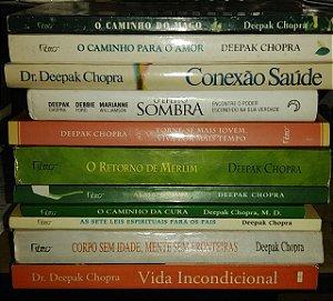 Coleção Kit Deepak Chopra - 11 livros