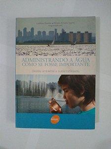 Administrando a Água como se Fosse Importante - Ladislau Dowbor e Renato Arnaldo Tagnin