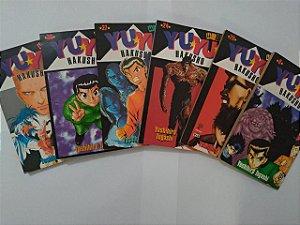 Coleção Yuyu Hakusho - Yoshiro Togashi C/6 Volumes