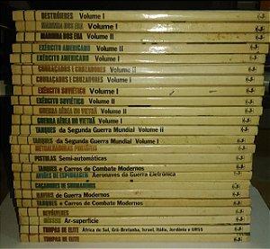 Coleção Guias de Armas de Guerra - Nova Cultural - 24 volumes