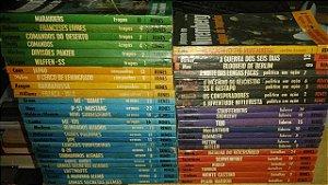 Coleção História Ilustrada da Segunda Guerra Mundial Renes - 47 volumes - Autores Diversos