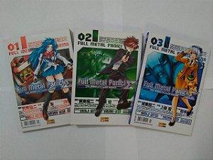 Coleção Full Metal Panic! - Volumes 1, 2 e 3