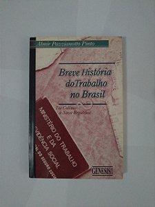 Breve História do Trabalho no Brasil - Almir Pazzianotto Pinto