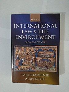 International Law e The Evironment - Patricia Birnie e Alan Boyle