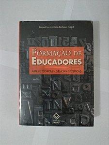 Formação de Educadores  - Raquel Lazzari Leite Barbosa (Org.)