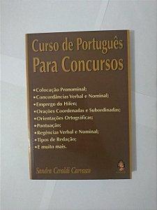 Curso de Português para Concursos - Sandra Ceraldi Carrasco