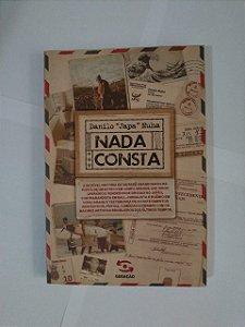 """Nada Consta - Danilo """"Japa"""" Nuha"""