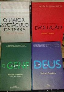 Coleção Richard Dawkins - 4 volumes Kit
