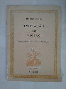 Iniciação ao Violão - Henrique Pinto (Marcas de umidade)