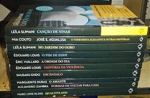 Coleção 10 livros TusQuets - Clássicos Mia Couto Entre outros
