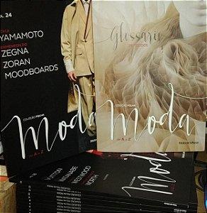 Coleção Folha Moda de A a Z 24 volumes + Glossário
