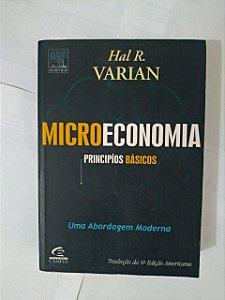 Microeconomia: Princípios Básicos - Hal R. Varian