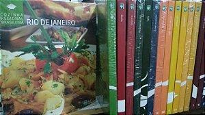 Coleção Cozinha Regional Brasileira Completa com 20 Volumes - Ed. Abril