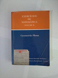 Exercícios de Matemática Vol. 6 - Manoel Benedito Rodrigues e Álvaro Zimmermann Aranha (danificado)