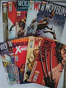Coleção Hq Wolverine - Marvel C/10 Volume